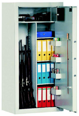 Coffre fort pour armes bt 54503 certifi classe s2 en 14450 - Coffre fort arme ...